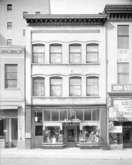 Pratt's Beauty Supply Company exterior [645 Seymour Street]