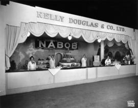 Kelly Douglas and Co. display of Nabob products