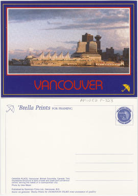 Canada Place, Vancouver, B.C.
