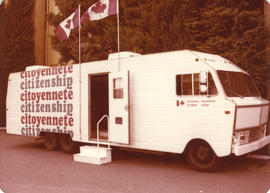 Canada Secretary of State Citizenship van