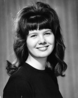 Cathy Amos, Miss Nanaimo '65 : [portrait]