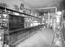 [Interior of MacMillan's General Store]