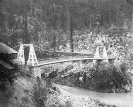 Suspension Bridge - Frazer [Fraser] River