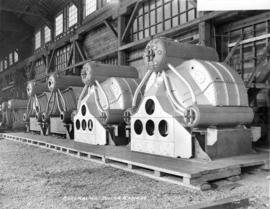 Vancouver Iron Works Limited - Assembling Boiler Casings