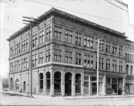 [Ferguson Block building at Hastings and Richards Streets]