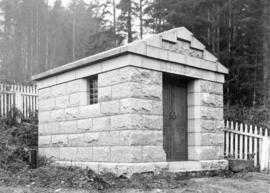 [Chief Joe Capilano's mausoleum]