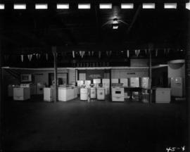 Kelvinator Sales Corp. display of household appliances