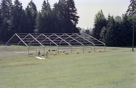 Event tent metal structure