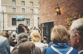 Crowd at Castle Vancouver opening