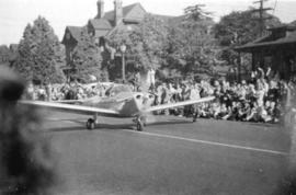 [Aircraft in the P.N.E. parade]