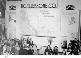 B.C. Telephone Co. display