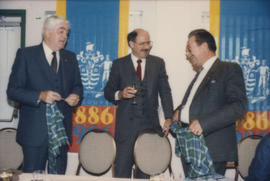 Patrick Reid, Mike Harcourt and [Ted Allan]