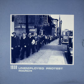 Unemployed protest march