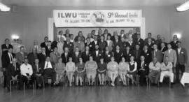 9th annual ILWU [International Longshore and Warehouse Union] Canadian area convention, delegate ...