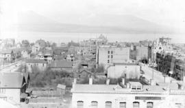 [Northern view of the 600 Block between Howe Street and Granville Street from the Hotel Vancouver]