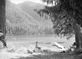 [View of ] Cameron Lake, Vancouver Island