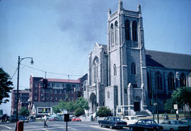 [View of] St. Andrew's-Wesley [United Church at 1012 Nelson Street]