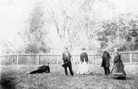 Croquet Party [at] Maple Bank 1869