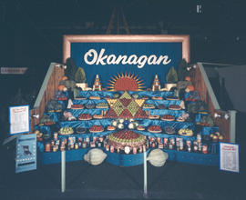 Okanagan display of agriculture and produce