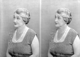 [Two head and shoulders portraits of Mrs. Harry Duker]